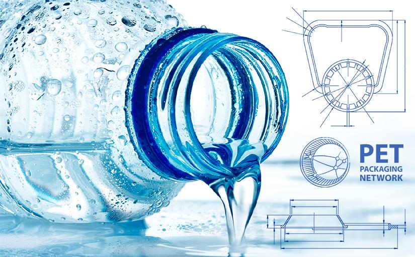 Asas de HDPE para envases de PET