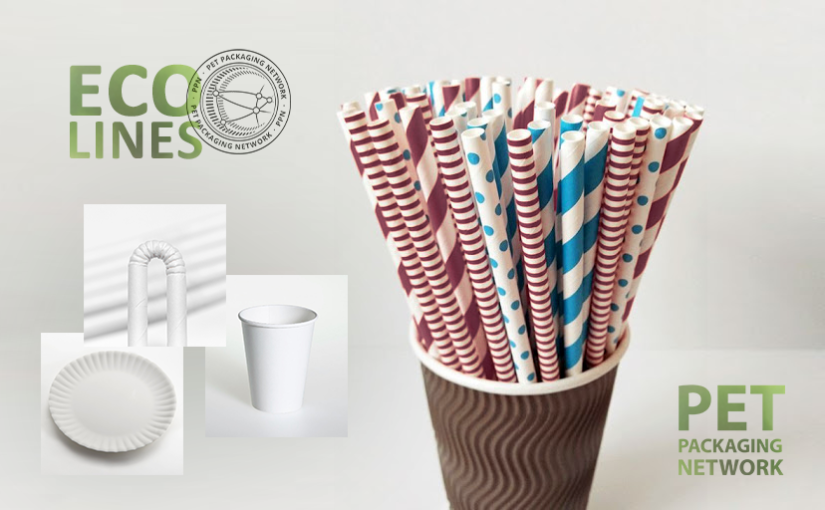 Productos desechables ECO a base de papel